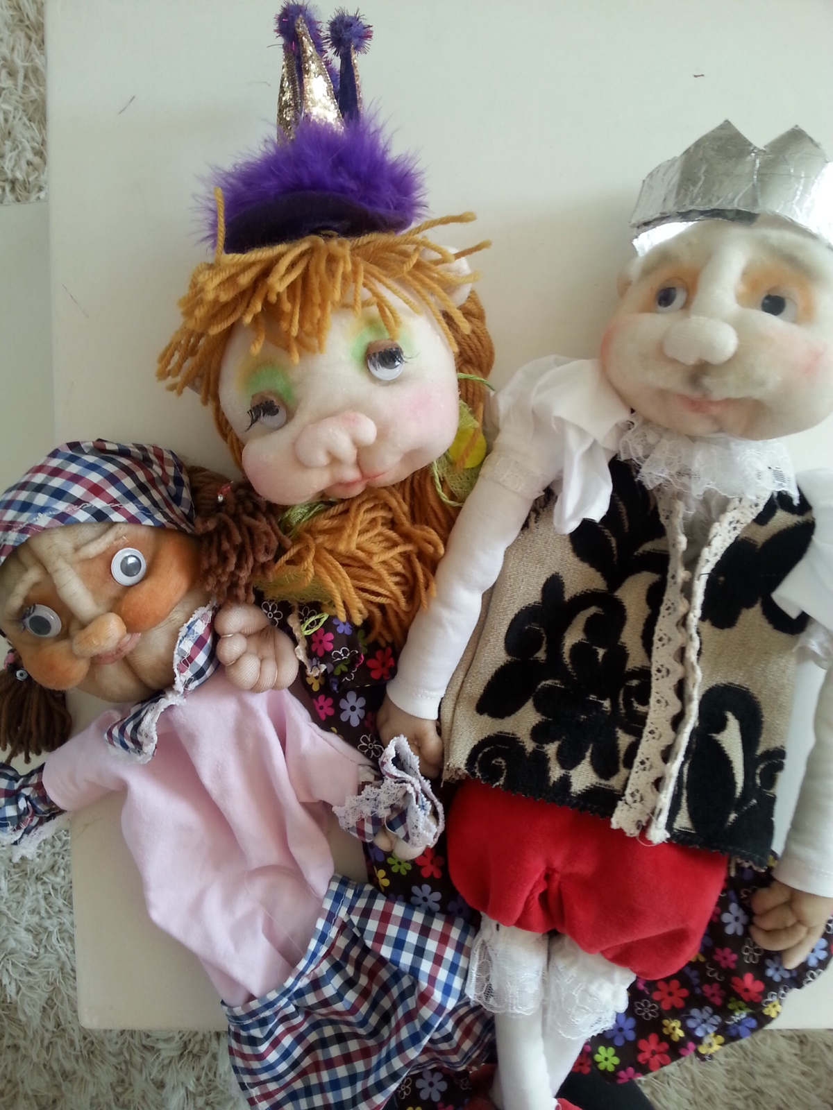 Кукла для театра своими руками 65