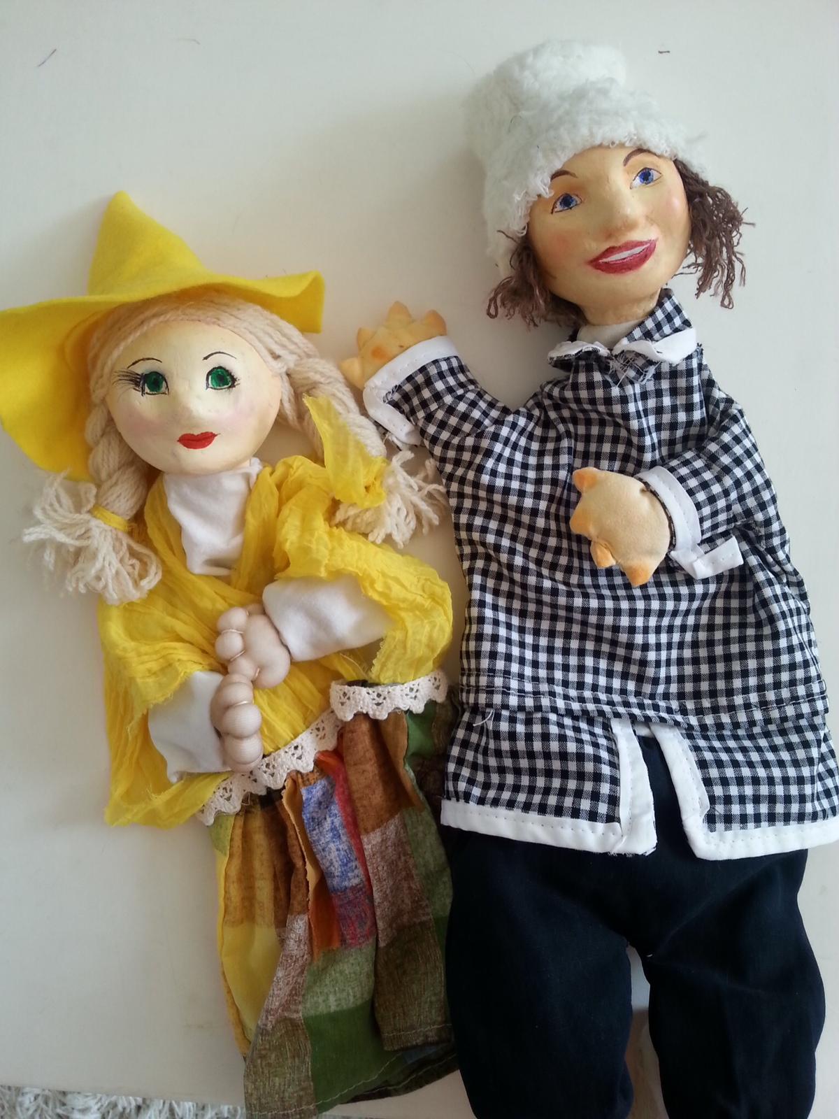 Кукла для театра своими руками 55